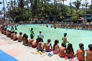 Los hijos e hijas de los trabajadores de la Alcaldía del Municipio Vargas disfrutaron de áreas como la piscina