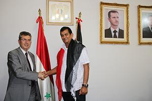 Alcalde de Vargas se solidariza con Siria