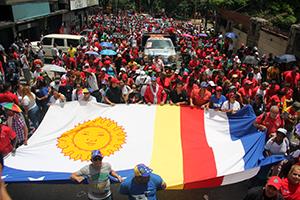 """Toledo: """"América Latina no se rinde sigue luchando contra el imperio"""""""