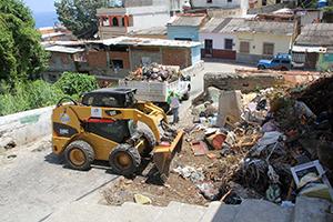 Patrulleros ambientales se fajaron en Pueblo Nuevo-La Guaira
