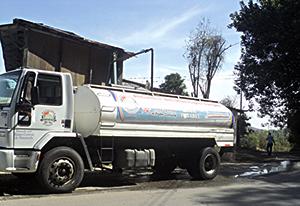 Alcaldía suministró 6.402.000 litros de agua