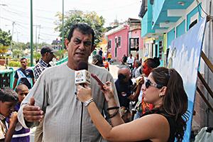Alcalde del Municipio Vargas, Alexis Toledo, rindiendo declaraciones
