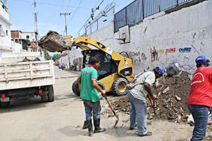 Gobierno municipal garantiza limpieza