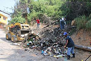 Retiraron desechos en Llano Adentro