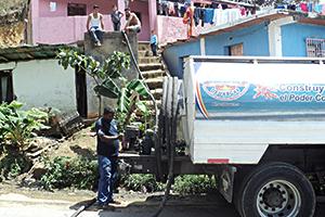 La Alcaldía mantiene su  plan de abastecimiento de agua