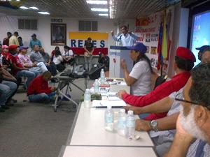 Alcalde Alexis Toledo _tenemos que ganar de una manera aplastante para seguir con el modelo socialista legado por el Comandante Supremo Hugo Chávez_