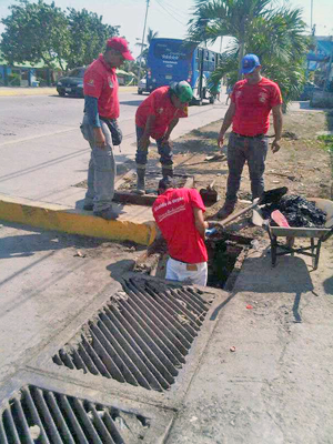 Realizan saneamiento en Urimare