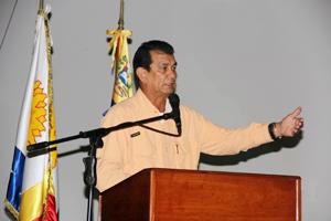 Alcalde del Municipio Vargas, rindiendo declaraciones.