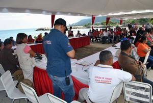 Alcalde de Vargas realiza gabinete sectorial con el Poder Popular de Naiguatá