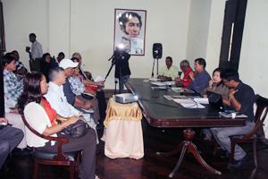 Alcalde del Municipio Vargas, Alexis Toledo, en la presentación del Plan de Inversión Municipal ante el Consejo Local de Planificación de Políticas Públicas (CLPP).