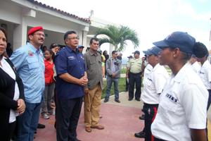 Viceministro de MPPRIJP y Alcalde evalúan alcances del nuevo modelo policial
