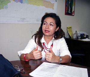 Yrisdes Jáuregui, Directora General de Planificación y Desarrollo de la Alcaldía del Municipio Vargas