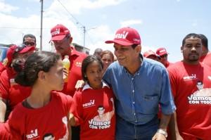 Alcalde Alexis Toledo, candidato a la reelección a la Alcaldía por el Partido Socialista Unido de Venezuela
